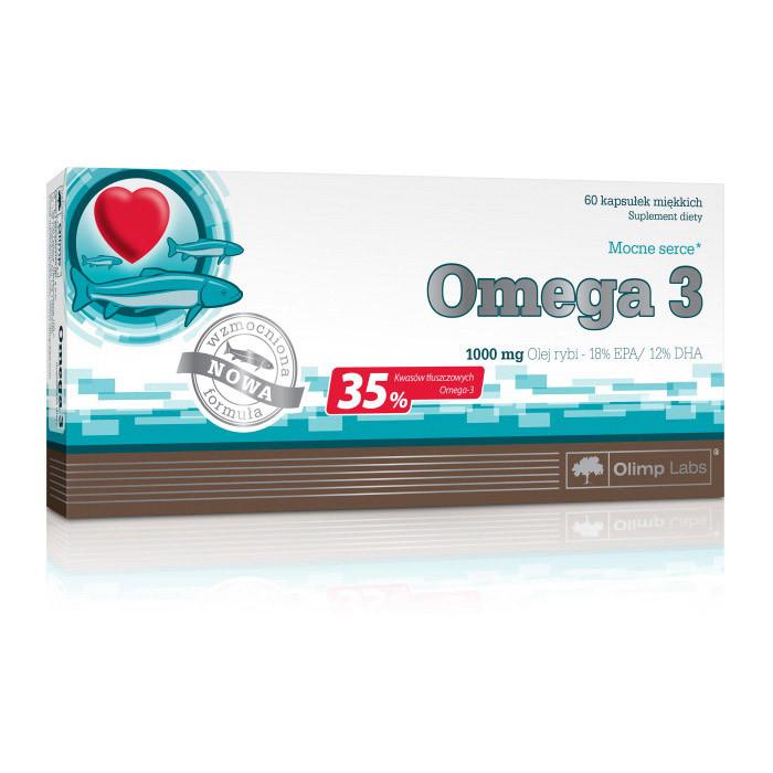 Рыбий жир омега-3 Olimp Omega-3 35% 60 (caps)