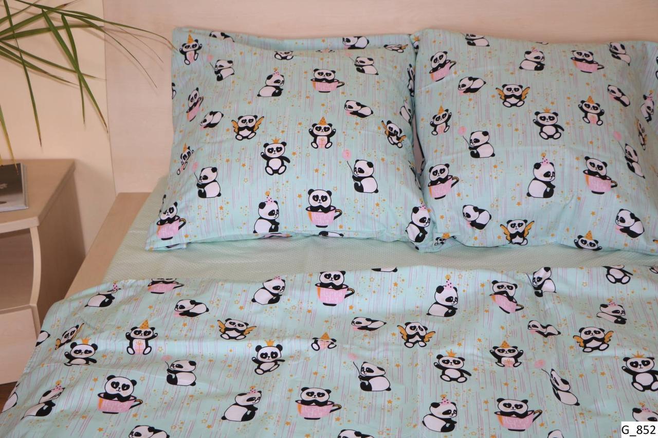 Комплект постельного белья подростковый Панда