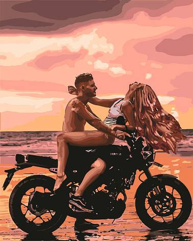 Картина по номерам Идейка Страсть на пляже 40*50 см (без коробки) арт.KHO4709, фото 2