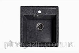 Мойка кухонная Solid Бриз, чёрный (ДхШхГ-515х460х200)