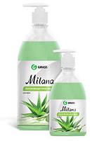 GRASS Жидкое крем мыло Milana «Алоэ Вера» с дозатором 1 л.