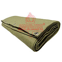Тент брезентовый пл. 550 гр/м2, накидка, штора, экран сварщика (производство)