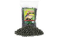 Black Halibut Pellets Benzar Mix 12mm 800g Garlic