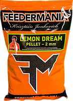 Feedermania Фидермания Pellet 2 мм 800г Lemon Dream