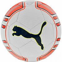 Мяч футбольный тренировочный Пума размер 5 Puma Evo Power Lite Полиуретан Бело-оранжевый (ЛФ 82226-01-5)