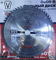 Пильный диск по дереву VATZO 305x30x60z, фото 1