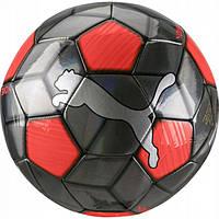 Мяч футбольный тренировочный Пума размер 5 Puma One Strap Ball Полиуретан Красно-черный (ЛФ 083272-01-5)