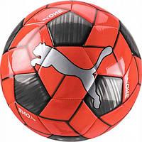 Мяч футбольный тренировочный Пума размер 5 Puma One Strap Ball Полиуретан Черно-красный (ЛФ 083272-02-5)