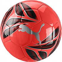 Мяч футбольный тренировочный Пума размер 5 Puma One Strap Ball Полиуретан Черно-красный (ЛФ 083268-02-5)