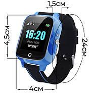 Детские смарт часы JETIX T-Watch с термометром,GPS трекером, телефоном, виброзвонком и датчиком падения (Blue), фото 5