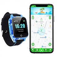 Детские смарт часы JETIX T-Watch с термометром,GPS трекером, телефоном, виброзвонком и датчиком падения (Blue), фото 9
