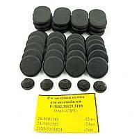 Комплект заглушек кузова (41шт) Газ-3102,31029, 3110