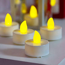 Свечи светодиодные, набор из 4х шт