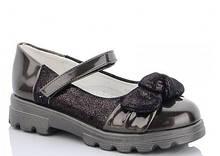 Туфли подросток черные,туфли на девочку,туфли детские школьные,Yalike 55-118