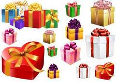 "Вафельна картинка  ""Подарунки"""