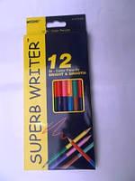 Набор из 12  карандашей 24 цвета