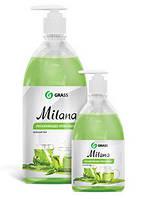 GRASS Жидкое крем мыло Milana «Зеленый чай» с дозатором 0,5л.