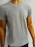 Мужская футболка MSY. 42636-8182(grey). Размеры: M,L,XL,XXL., фото 2