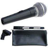 Вокальный ручной профессиональный микрофон SHURE SM58 SE с выключателем, динамический