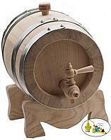 Бочка дубовая 15 литров