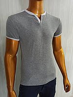 Мужская футболка MSY. 21373-8198(grey-white). Размеры: M,L,XL,XXL,XXXL., фото 1