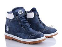 """Ботинки  женские """"Navigator"""" #B2808-2. р-р 36-41. Цвет синий. Оптом"""