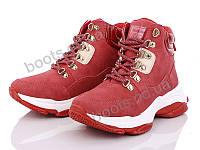 """Ботинки  женские """"Navigator"""" #B3940-3. р-р 36-41. Цвет красный. Оптом"""