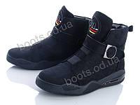 """Ботинки  женские """"Navigator"""" #B90. р-р 36-41. Цвет черный. Оптом"""