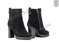 """Ботинки  женские """"Allshoes"""" #138893. р-р 36-41. Цвет черный. Оптом"""