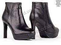 """Ботинки  женские """"Allshoes"""" #148715. р-р 35-40. Цвет черный. Оптом, фото 1"""