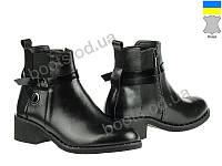 """Ботинки  женские """"Allshoes"""" #151680. р-р 36-40. Цвет черный. Оптом"""