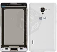 Корпус для LG Optimus L7 II P710/P713 - оригинал (белый)
