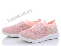 """Кроссовки  женские """"Canoa"""" #2019-64. р-р 37-41. Цвет розовый. Оптом"""