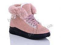"""Ботинки  женские """"Cinar"""" #RLS006-2. р-р 36-41. Цвет розовый. Оптом"""
