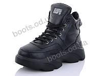 """Ботинки  женские """"Cinar"""" #955P-1. р-р 36-40. Цвет черный. Оптом, фото 1"""