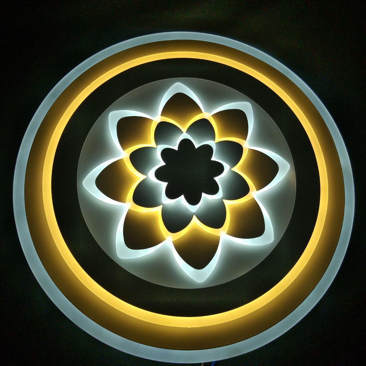 Люстра LED потолочная JLY-085 D500 99W+99W