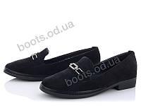 """Туфли женские  женские """"Mei De Li"""" #ADF27. р-р 36-40. Цвет черный. Оптом"""