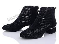 """Ботинки  женские """"Mei De Li"""" #231-6 black. р-р 36-40. Цвет черный. Оптом"""