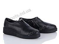 """Ботинки  женские """"Diana"""" #H0286B-K901. р-р 36-41. Цвет черный. Оптом"""