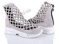 "Ботинки  женские ""Diana"" #900 бежевые ботинки. р-р 23-24,5. Цвет бежевый. Оптом"