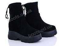 """Ботинки  женские """"Diana"""" #Ботинки 2031 черный. р-р 36-40. Цвет черный. Оптом"""