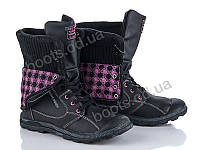 """Ботинки  женские """"Fabullok"""" #HS5291-3 black. р-р 36-40. Цвет . Оптом"""