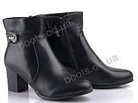 """Ботинки  женские """"Gallop Lin"""" #A303. р-р 36-41. Цвет черный. Оптом"""