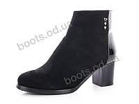 """Ботинки  женские """"Gallop Lin"""" #RA188. р-р 36-41. Цвет черный. Оптом"""