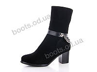 """Ботинки  женские """"Gallop Lin"""" #RA236. р-р 36-41. Цвет черный. Оптом, фото 1"""