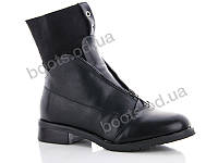 """Ботинки  женские """"Gallop Lin"""" #WL48. р-р 36-41. Цвет черный. Оптом"""