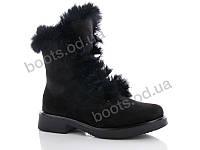 """Ботинки  женские """"Gallop Lin"""" #WL77. р-р 36-41. Цвет черный. Оптом"""