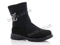 """Ботинки  женские """"Gallop Lin"""" #WL91. р-р 36-41. Цвет черный. Оптом"""