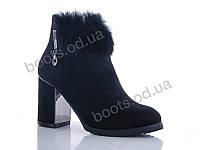 """Ботинки  женские """"Gallop Lin"""" #WL133. р-р 36-41. Цвет черный. Оптом"""
