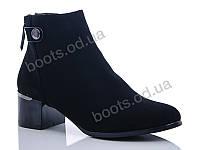 """Ботинки  женские """"Gallop Lin"""" #GL223. р-р 36-41. Цвет черный. Оптом"""